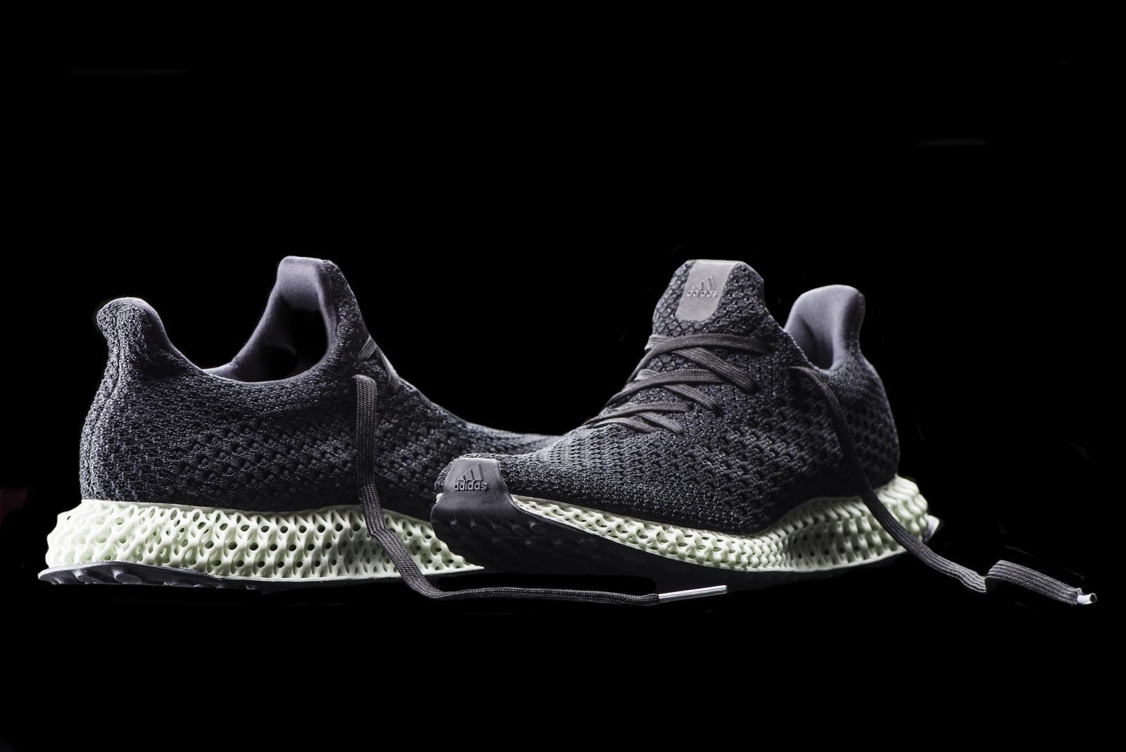 footwear has a 3D-printed sole